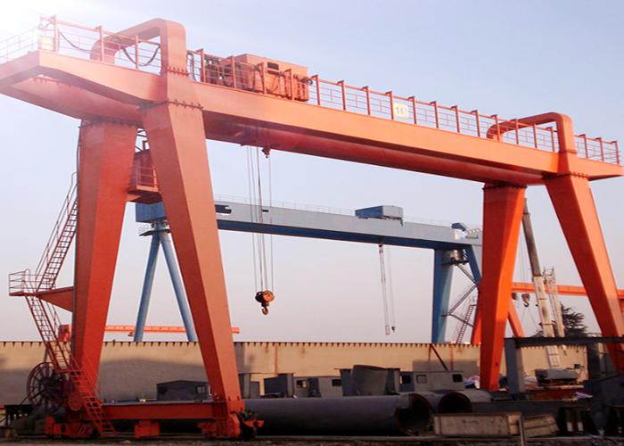 75吨箱型双梁门式起重机