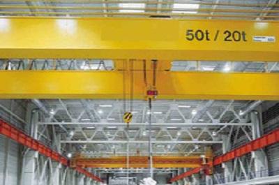 QD50吨双梁吊钩桥式起重机